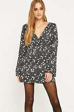 c8015f8b6ef Urban Outfitters Pins   Needles Sleeved Floral Wrap Playsuit - Small