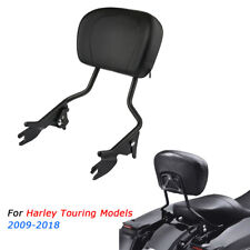 Amovible Dossier Sissy Bar Pour Harley Touring Street Glide Road King 2009-18