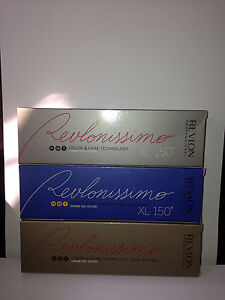 3 x REVLON Revlonissimo Color & Care Cream Gel Color 60ml