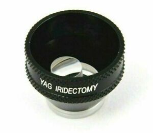 Ophthalmology Free Shipping YAG Iridectomy Lens For YAG Laser Surgery Procedure