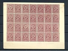 COLOMBIA SANTANDER 20 Ct, - BLOCK OF 28 ST, (*) --ALMOST VF
