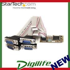 StarTech 4 Port RS232 Mini PCI Express Serial Card w/ 16650 UART