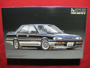 7th Gen Nissan Skyline R31 4 Door Hardtop GT 1/24 Fujimi Plastic Model Kit GTS
