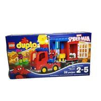 Lego Duplo 10608 Spider-Man Spider Truck Adventure NISB Retired Marvel