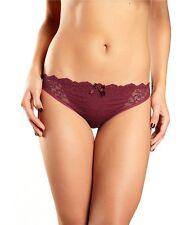 NWOT crimson  Chantelle Intimates 'Rive Gauche' bikini panties  3087 size S