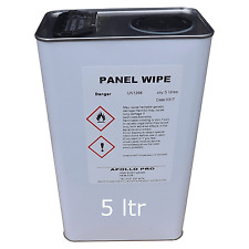 5L Panel Wipe Degreasing Pre Paint Wipe Anti Silicone Contaminants FREE CARRIAGE