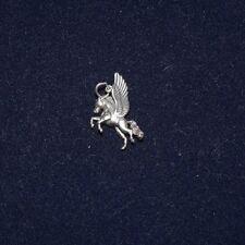Sterling Silver Pegasus Horse Charm Pendant NICE!