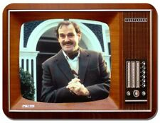Fawlty Towers Television Mouse Mat. Basil Fawlty Vintage TV Mouse Pad