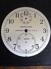 """""""Original"""" Model # 21. Hamilton Marine Chronometer Dial... No. 2E12067... L@@K"""