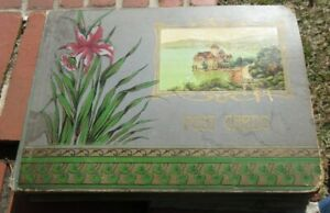 Early 1900's Postcard Album. Castile, New York NY Owner 180+ cards!  Photo Cards