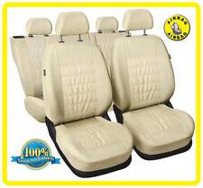 CAR SEAT COVERS full set fit HONDA LEGEND - Eco leathe leatherette beige