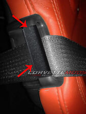 C7 Corvette 2014+ Seat Belt Guide Anti-Belt Pop Guard - Pair