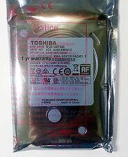 """Toshiba 500GB 2.5"""" 7mm MQ01ABF050 SATA 5400RPM 8MB Laptop Hard Drive HP DELL NB"""