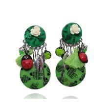 Lol Bijoux - Boucles d'Oreilles Clips - Cactus - Vert - Isabella