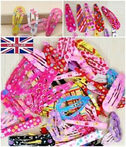 26 ps Assorted Designs Alloy Hair Clip Snaps Accessories for Girls Baby hairpins