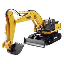 Huina Toys 1510 1:16 2.4Ghz 11Ch Rc Car Excavator Rtr 680-Degree Rotation