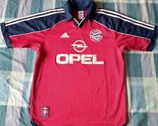 Shirt Camiseta Trikot BAYERN MÜNCHEN Adidas Munich Season 1999 Size M dorsal fan