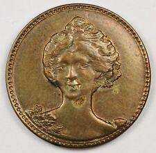 "1888 Brothel Token. ""Compliments of Miss Olga"" Wild West Brothel.  A.U.   117268"