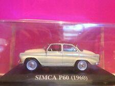SUPERBE SIMCA P60 1960 NEUF BOITE SOUS BLISTER 1/43 M6