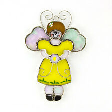 """""""Switchables"""" Stained Glass Night Light Cover - Angel - #SW-A06"""
