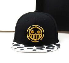 Anime One Piece Baseball Cap Mens Trafalgar Law Hat Skull Adjustable Cosplay hat