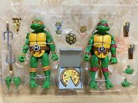 2Pack Teenage Mutant Ninja Turtles Raphael & Michelangelo 7'' inch Action Figure