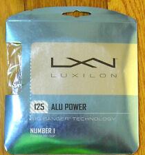 Luxilon Big Banger ALU Power 125 16L gauge Power Durability ga g Novak Djokovic