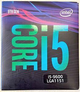 Intel BX80684I59600 SRF4H Core i5-9600 Processor 9M Cache, up to 4.60 GHz NEW