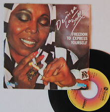 "Vinyle 45T Denise Lasalle  ""Freedom to express yourself"""