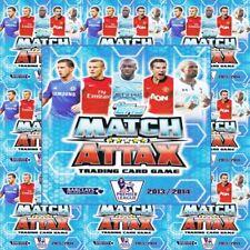 Match Attax 2013-14 Football Team Sets of 18 Cards - Various