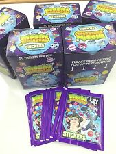 Topps Moshi Monsters Collectable Stickers Box(50 Pks) X 4 2 Official Album