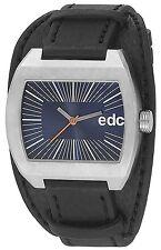 Esprit Edc TOUGH BELT - MIDNIGHT BLACK Herrenuhr Edelstahl Blau EE100821003