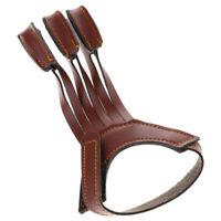 Wear-resistant Three Finger Recurve Bow Archery Glove Arm Guard