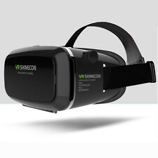 "Universal 3D Virtual Reality VR Box Google Video Glasses For 3.5-6"" Smart Phone"
