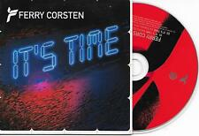 FERRY CORSTEN - It's time CD SINGLE 2TR Dutch Cardsleeve 2004 (Tsunami) Holland