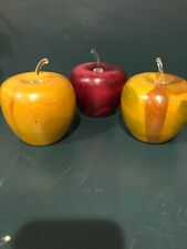 Handcrafted Wooden Apples/Spinning Aspen