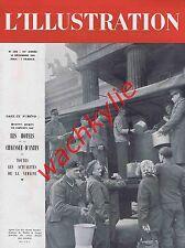 L'illustration n°5258 du 18/12/1943 chaussée-d'Antin Nadar planeurs vol à voile
