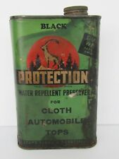 Vintage Early Protection Products MFG Co Water Repellent Automobile Tin
