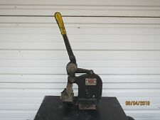 WHITNEY-JENSEN Model K409 Metalworking Benchtop Metal Punch