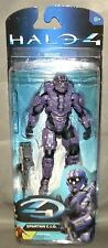 "PURPLE TEAM SPARTAN C.I.O. WITH DMR Halo 4 Series 2 McFarlane Toys 5"" Figure"