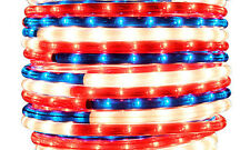 "Patriot Rope Light 30Ft 110V 120V 2-Wire 1/2"" Incandescent Bulbs Flexilight"