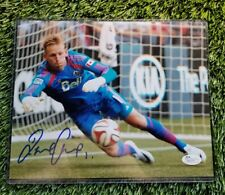 DAVID OUSTED SIGNED 8X10  D.C. UNITED FOOTBALL CLUB ACTION PHOTO JSA/COA R83274