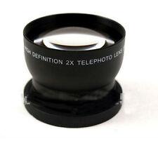 58mm 2.0X Tele Converter Lens For Canon EOS 1100D 1000D T2i T3i 18-55mm Camera