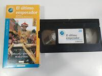 Der Letzte Kaiser Bernardo Bertolucci - Film VHS Spanisch - 2T