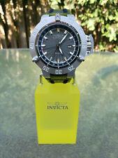 Invicta 21727 Subaqua Noma III GMT Swiss Ronda Quartz Leather Strap Men's Watch