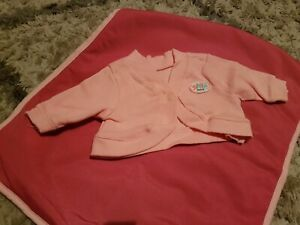 Baby BORN DOLL brand New Pink L/S Jacket