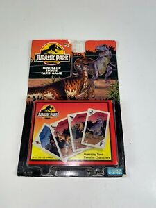 SEALED Jurassic Park Dinosaur Escape Card Game Parker Brothers 1992/1993