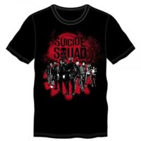 Suicide Squad Group Black T-Shirt - Officially Licensed - *New*
