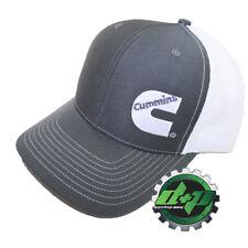 Dodge Cummins trucker hat ball mesh richardson charcoal grey w/ white snap back