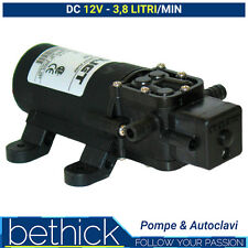 POMPA AUTOCLAVE BARCA E CAMPER - FLOJET MINI 12V 3,8 LT/MIN CON PRESSOSTATO